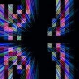 De abstracte achtergrond van het technologieontwerp stock illustratie