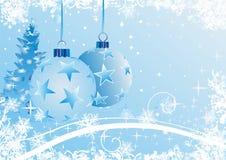 De abstracte achtergrond van Kerstmis Stock Afbeeldingen