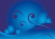 De abstracte achtergrond van Kerstmis Royalty-vrije Stock Foto