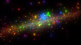 De abstracte achtergrond van de kleurenmelkweg royalty-vrije stock foto's