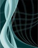 De abstracte achtergrond van lijnen Royalty-vrije Stock Afbeeldingen