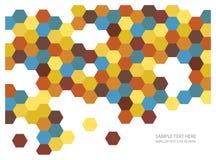 De abstracte achtergrond van mozaïektegels Stock Foto