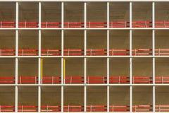 De abstracte achtergrond van de patroonbouw Stock Afbeeldingen