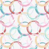 De abstracte achtergrond van de patroonkwaststreek royalty-vrije illustratie