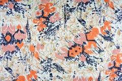 De abstracte achtergrond van de patroonstof Stock Afbeeldingen