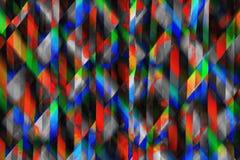 De abstracte Achtergrond van Regenboogstroken Stock Foto