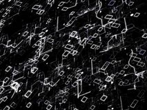 De Abstracte Achtergrond van de technologie Digitaal Concept Royalty-vrije Stock Afbeelding