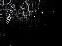 De Abstracte Achtergrond van de technologie Digitaal Concept Stock Foto's