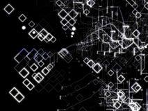 De Abstracte Achtergrond van de technologie Digitaal Concept Stock Afbeeldingen