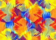 De abstracte Achtergrond van Veren Stock Afbeeldingen