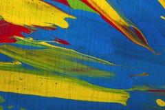 De abstracte Achtergrond van de Verf Stock Afbeelding