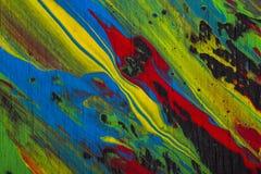 De abstracte Achtergrond van de Verf Stock Foto's