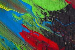 De abstracte Achtergrond van de Verf Royalty-vrije Stock Foto's
