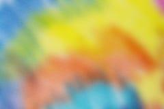 De abstracte artistieke kleurpotloodkleur op Vijverdocument Royalty-vrije Stock Afbeeldingen