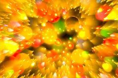 De abstracte bal van Kerstmis Stock Foto's