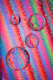 De abstracte Ballen van het Glas Stock Foto