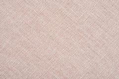 De abstracte beige achtergrond van de stoffentextuur Ecologisch streepbehang stock foto
