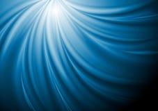 De abstracte Blauwe Achtergrond van de Golf van de Werveling royalty-vrije illustratie