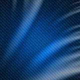 De abstracte blauwe achtergrond van de koolstofvezel. Stock Fotografie