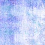 De abstracte blauwe achtergrond van de verfborstel met krastextuur Royalty-vrije Stock Afbeelding