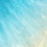 De abstracte blauwe achtergrond van de waterverf. Stock Afbeeldingen