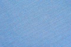 De abstracte blauwe achtergrond van de stoffentextuur Ecologisch streepbehang stock foto's