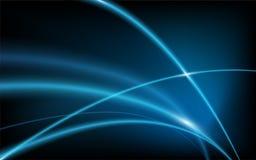 De abstracte blauwe achtergrond van de achtergrond vlotte verlichting vector illustratie
