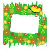 De abstracte bloemenachtergrond. Royalty-vrije Stock Afbeeldingen