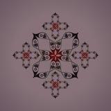 De abstracte BloemenElementen van het Ontwerp Royalty-vrije Stock Afbeeldingen