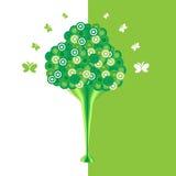 De abstracte boom Als achtergrond. Stock Afbeelding