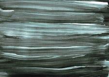De abstracte borstel van de de illustratieverf textuur zwarte witte grijze blauwe van het achtergrondkunstontwerp stock illustratie