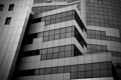 De abstracte bouw Stock Afbeeldingen