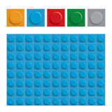 De abstracte bouw blokkeert achtergrond, Grafische Vector stock illustratie