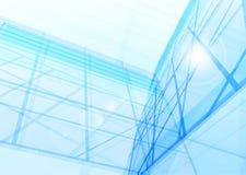 De abstracte bouw van de lijnen stock illustratie