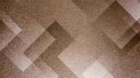 De abstracte bruine achtergrond stelde gestreepte patroon en blokken in diagonale lijnen met uitstekende bruine textuur in de sch royalty-vrije stock foto's