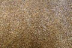 De abstracte bruine textuur van het luxeleer voor achtergrond Stock Afbeelding