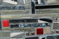 De abstracte ceramische mozaïeken van het detailglas Royalty-vrije Stock Foto's