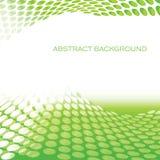 De abstracte cirkel groene achtergrond van patroongolven Stock Fotografie