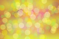 De abstracte cirkels van de achtergrondmengelings blauwe kleur bokeh Royalty-vrije Stock Foto's