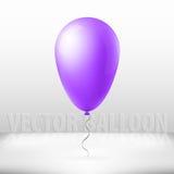De abstracte creatieve ballon van de concepten vectorvlucht met lint Voor Web en Mobiele die Toepassingen op achtergrond, art. wo Royalty-vrije Stock Foto's