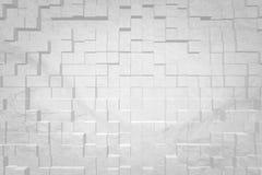 De abstracte 3D achtergrond drijft stijl uit Stock Foto's