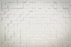 De abstracte 3D achtergrond drijft stijl uit Stock Foto