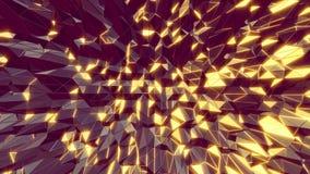 De abstracte 3D koele bewegende achtergrond van de mangastijl naadloos stock video