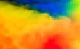 De abstracte 3d kubus drijft achtergrond, digitale uit illustratie vector illustratie