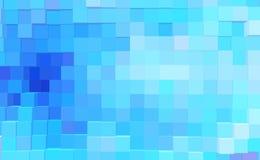 De abstracte 3d kubus drijft achtergrond, futuristische uit illustratie royalty-vrije illustratie