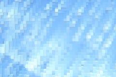 De abstracte 3d kubus drijft achtergrond, moderne futuristisch uit vector illustratie