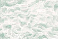 De abstracte 3d kubus drijft uitgedreven achtergrond uit, royalty-vrije illustratie