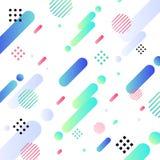 De abstracte diagonale geometrische heldere kleur en de achtergrond van het patroonontwerp U kunt voor modern dekkingsontwerp, ve vector illustratie