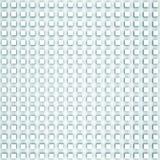 De abstracte digitale achtergrond met lichtblauwe hulp kubeert patroon Stock Afbeelding