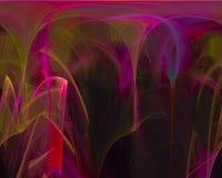 De abstracte digitale effect fractal creatieve creativiteit van de wetenschaps toekomstige elegantie, artistiek malplaatje, elega stock illustratie